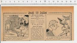 2 Scans 1906 Humour Expression Manquer De Nez Casque Heaume De Chevalier Moyen-âge Armure  223XA - Vieux Papiers