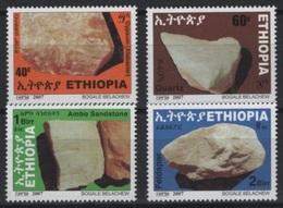 Ethiopia - Ethiopie (2007) Yv. 1661/64  /  Minerals - Mineraux - Minéraux