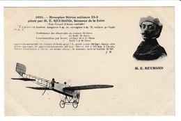 Monoplan Blériot Militaire XI-2 Piloté Par M.E REYMONT Sénateur De La Loire - ....-1914: Precursors