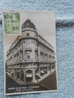 Cpa Bruxelles Banque Belge Pour L'etranger Rue Des Colonies - België