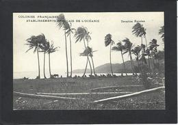 CPA Polynésie Française Océanie Océania Non Circulé Tevaitoa Raiatea - Polynésie Française
