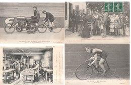 Lot De 100 Cartes Postales Anciennes Diverses Variées Et 4 Photos, Très Bien Pour Un Revendeur Réf, 312 - Cartes Postales