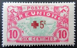 1915 Réunion Yt 82 Map Of The Island . Neuf Charnière - Reunion Island (1852-1975)