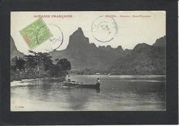 CPA Polynésie Française Océanie Océania Circulé Moorea - Polynésie Française