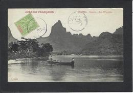 CPA Polynésie Française Océanie Océania Circulé Moorea - French Polynesia