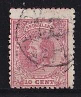 Nederland - Koning Willem III - Gebruikt/used - NVPH 21 - Used Stamps