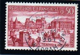 """SITES ET MONUMENTS - 50c  """"Deauville""""   N° 1294 Obl. - France"""