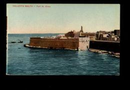 B9549 MALTA - FORT ST. ELMO SMALL FORMAT - Malta