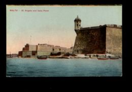 B9550 MALTA - ST. ANGELO AND ISOLA POINT SMALL FORMAT - Malta