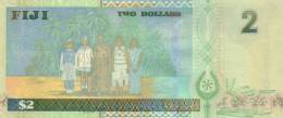 FIJI P. 104a 2 D 2002 UNC - Fidji