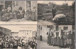 Lot De 100 Cartes Postales Anciennes Diverses Variées Dont 4 Photos, Très Bien Pour Un Revendeur Réf, 314 - Cartes Postales