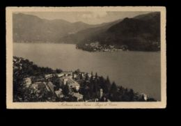 B9561 TICINO - MENDRISIO VERSO FORNO - PANORAMA FORMATO PICCOLO VG 1912 - TI Tessin
