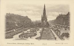 Edinburgh - Princes Street Looking West [AA24-1.251 - Ireland