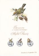 Feuillet De La Poste En Hommage à BUZIN - FDC Oiseaux  - Timbres N°2424/26 - 1991- ETAT!! - 1985-.. Oiseaux (Buzin)