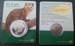 2018  Kazakhstan Kasachstan - Fauna - Sable - Martes Zibellina - Kazakhstan