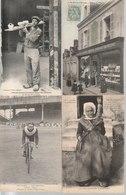 Lot De 100 Cartes Postales Anciennes Diverses Variées Dont 4 Photos, Très Bien Pour Un Revendeur Réf, 319 - Cartes Postales