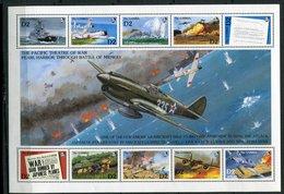 Gambie  ** N° 1195 à1204 - Pearl Harbor - Gambie (1965-...)