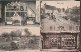 Lot De 100 Cartes Postales Anciennes Diverses Variées Et 4 Photos, Très Bien Pour Un Revendeur Réf, 321 - Cartes Postales