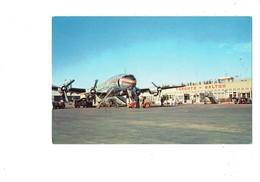 Cpm - MALTON AIRPORT - TORONTO - Trans-Canada Airlines - Aéroport Avion Camion Animation - Avions