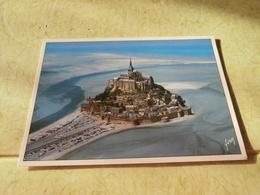 Carte Sm: Le Mont St Michel , Vue Du Mont A Maree Basse - Le Mont Saint Michel