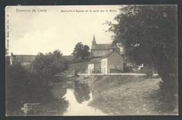+++ CPA - Environs De CINEY - MOHIVILLE - Eglise Et Pont Sur Le Bocq - Nels Série 134 N° 19  // - Ciney