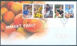 AUSTRALIA  - FDC - 24.7.2007 - MARKET FEAST - Yv 2741-2745 - Lot 18573 - Premiers Jours (FDC)