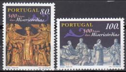 1998 (AF 2467-68) - S055 - 350 Anos Das Mesericórdias - 1910-... Republic