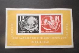 GERMANIA DDR GERMANY ALLEMAGNE DEUTSCHLAND 1950 Debria Stamp Exhibition MNH - [6] Democratic Republic