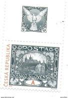 2018 Yv. 862 Po 963 : Centenaire Du 1er Timbre : Le Hradcany De MUCHA ( Château De Prague ) - Tchéquie