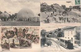 Lot De 100 Cartes Postales Anciennes Diverses Variées Dont 4 Photos, Très Bien Pour Un Revendeur Réf, 323 - Cartes Postales
