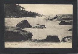 CPA Polynésie Française Océanie Océania Circulé Tuamotus - French Polynesia