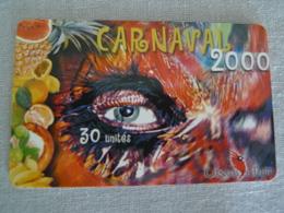 PF104 - CARNAVAL 2000 - MASQUE - Polynésie Française