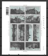 BELGIQUE   -  2002 .   Y&T N° 3069 à 3078 ** .  Châteaux.  Série Complète.en  Petite Feuille - Ungebraucht