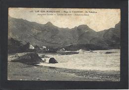 CPA Polynésie Française Océanie Océania Circulé Les Marquises Ile Nukahiva - Polynésie Française