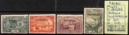 [825009]Macao 1913 - N° 165/68, Surcharge Républica, Bateaux, Transports - Neufs