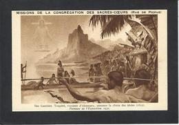 CPA Polynésie Française Océanie Océania Non Circulé Iles GAMBIER Toapéré Voyante D'Akamaru - Polynésie Française