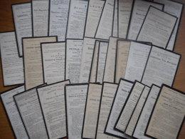 D.P.-LOTJE VAN 30 PRENTJES +VANAF 1900 TOT 1920 NIET VAN OOST-EN WEST VLAANDEREN - Religion & Esotérisme