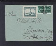 Dt. Reich Brief 1934 Paar Vignette Aschersleben - Briefe U. Dokumente