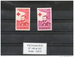 Vietnam Du Sud. Henri Dunant. Croix Rouge - Viêt-Nam