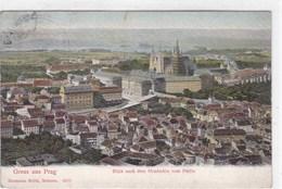 Tchéquie - Gruss Aus Prag - Blick Nach Dem Hradschin Vom Prtrin - Tchéquie