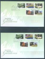AUSTRALIA  - FDC - 12.9.2007 - AUSTRALIAN BOTANIC GARDENS - Yv 2754-2763 - Lot 18576 - FDC
