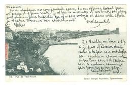 1905 Turkey Vue De Yedi-Koule Pc Used To Anvers, Constantinople-Galata Pmk, 10c French Mouchon - Turkey