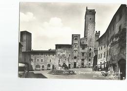 Italie Carte Photo Citta Di Gimignano Citadelle - Italie