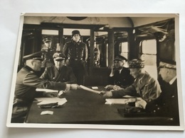 Carte Postale De Propagande Allemande Signature Armistice A Rethondes Juin 1940 Authentique 3 - 1939-45