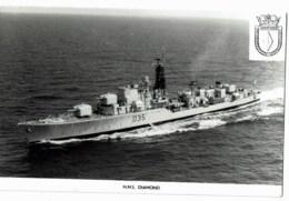 H.M.S  Diamond - Guerre
