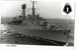 H.M.S  Norfolk - Guerre