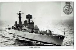 H.M.S Bristol - Guerre
