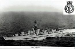 H.M.S Barrosa - Guerre