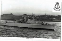 H.M.S London - Guerre