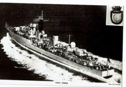 H.M.S Diana - Guerre